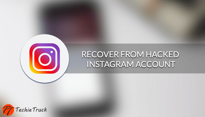 A New way to recover from Hacked Instagram Account