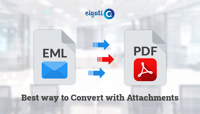 Best Way to Convert EML to PDF with Attachments